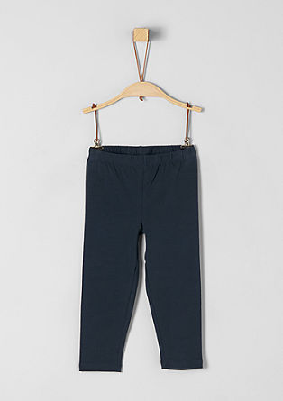 Cotton jersey leggings from s.Oliver