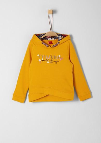 Kapuzen-Sweater mit Artwork