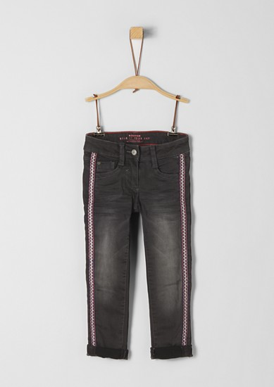Skinny Kathy: Lined stretch jeans from s.Oliver