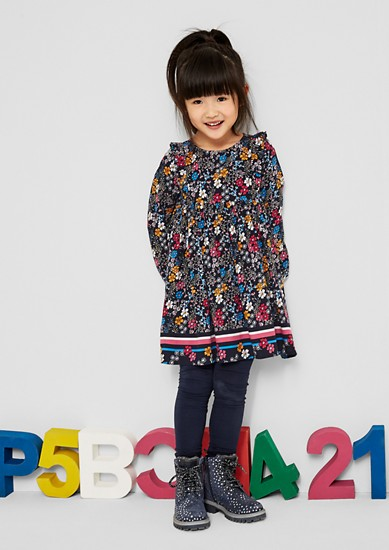 Floral blouse dress from s.Oliver