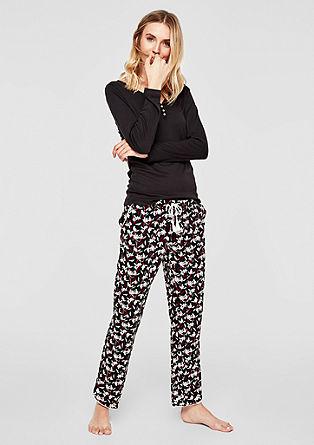 Pyjamabroek met motief