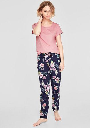 Bequemer Pyjama aus Jersey