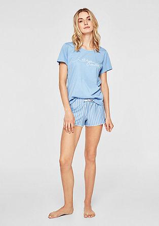Kratka pižama iz džersija