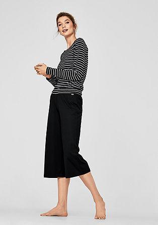 Weite Pyjama-Culotte