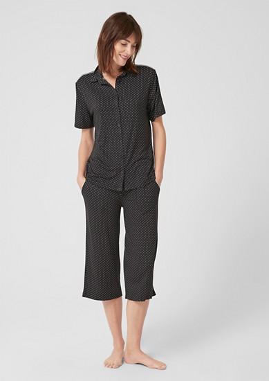 Pyjama mit kurzen Ärmeln