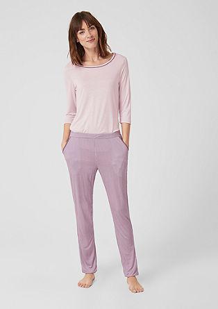 Pyjama met 3/4-mouwen