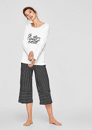 Bodywear-Shirt mit weitem Ausschnitt