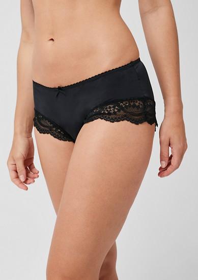 Panty mit Spitzen-Details