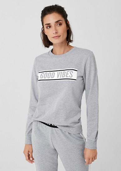 Sweatshirt mit Statement-Wording