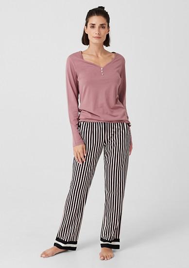 Pyjama-Set mit Musterprint