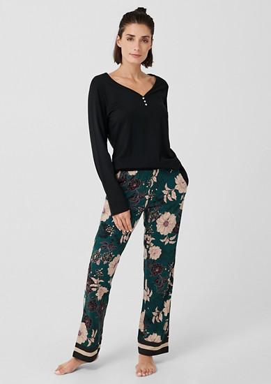 Pyjama set met motiefprint
