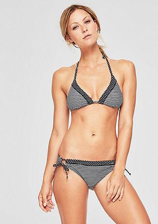 Neckholder Bikini-Top im Mustermix