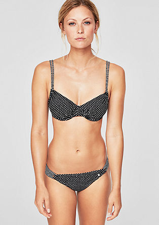 Bikinitop met stippen
