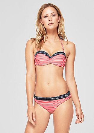 Gemusterte Bikinihose