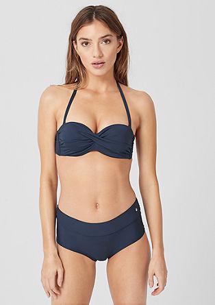 Bikini-Panty mit breitem Bund
