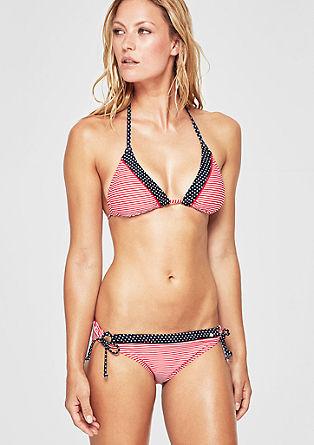 Bikinibroekje met bandjes