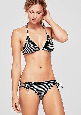 Bikinihose mit Bändchen