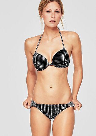 Bikinihose mit Schlaufen-Details