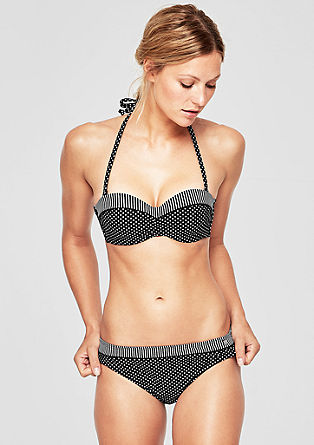 Bikinibroekje met motief