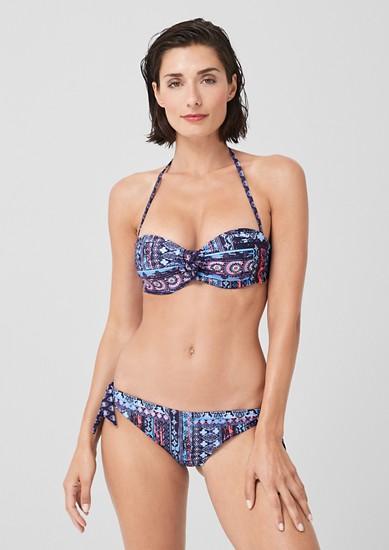 Wire Bandeau Bikini-Set
