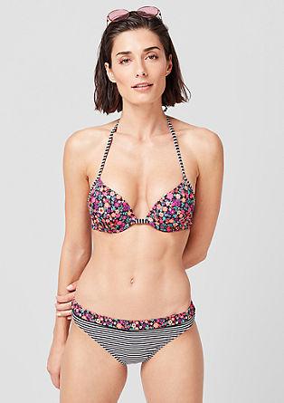 Bikini hlačke z mešanim vzorcem