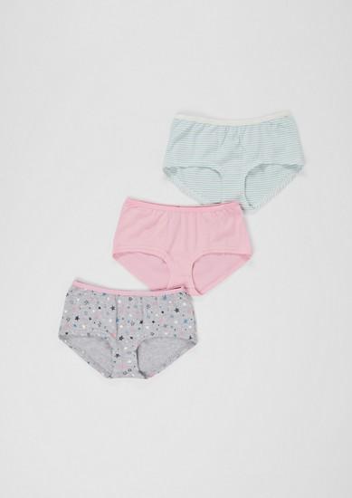 3er-Pack Baumwoll-Panties