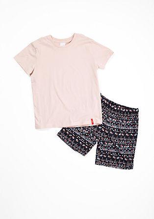 Korte katoenen pyjama