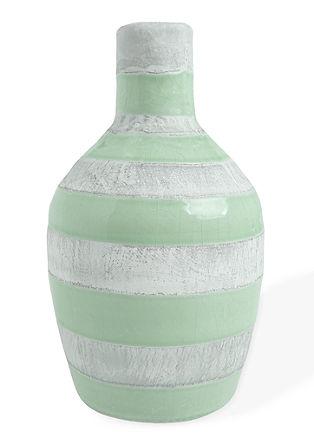 Geringelte Vase