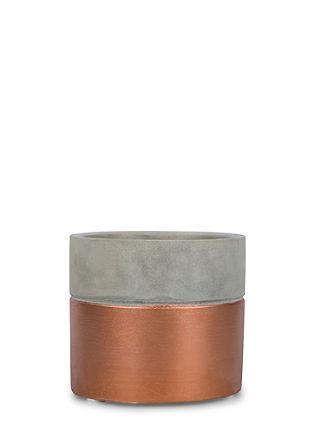 Kerzenhalter in Stein-Optik
