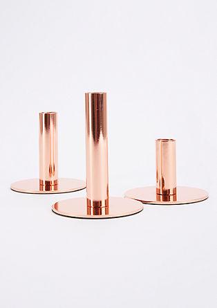 Kerzenhalter-Set aus Eisen