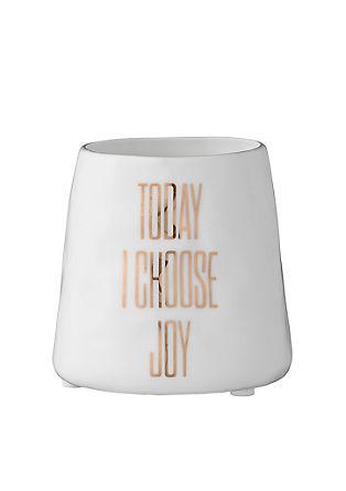 Teelichtgefäß 'Joy'