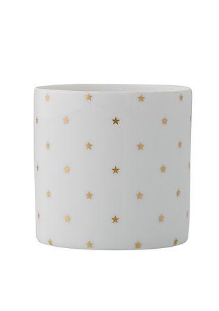 Teelichthalter 'Votive' mit Sternen