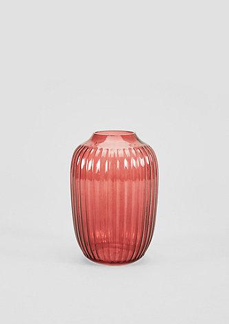 Formschöne Vase aus Glas