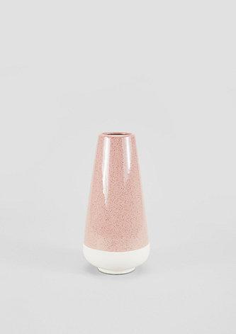 Vase mit Matt-/Glanz-Effekt