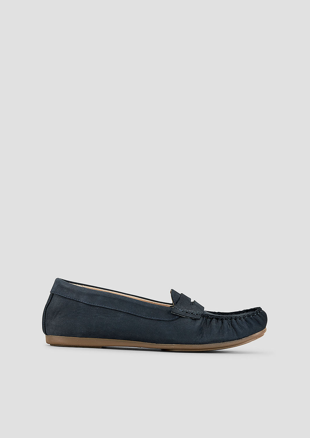 s.Oliver Komfortable Loafer aus Veloursleder