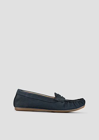 Komfortable Loafer aus Veloursleder