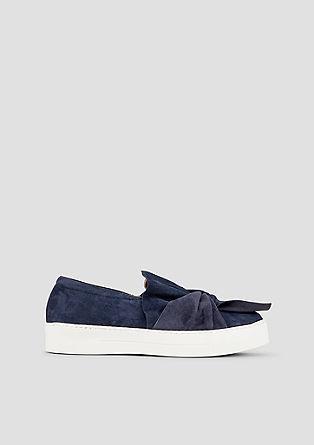 Slip-On Schuhe mit Schleifen-Detail