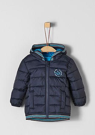 Doorgestikte jas met lichte wattering