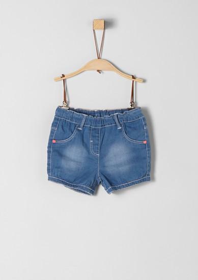 Shorts aus Sommer-Denim