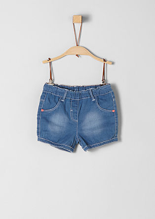 Shorts aus Sommer-Denim