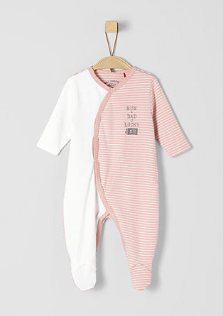 Striped romper suit from s.Oliver