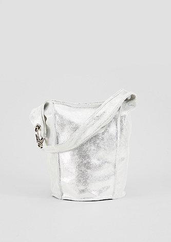 Tasche im Metallic-Look