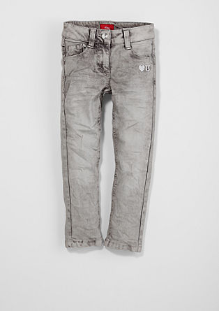 Kathy: stretch jeans with stitching from s.Oliver