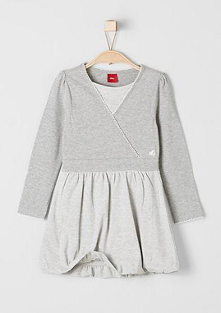 Kleid im 2in1-Look