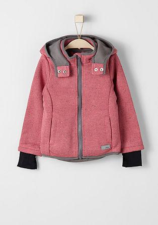 Mottled outdoor jacket from s.Oliver