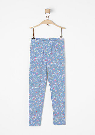 Floral leggings from s.Oliver