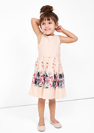 Party dress with pattern from s.Oliver