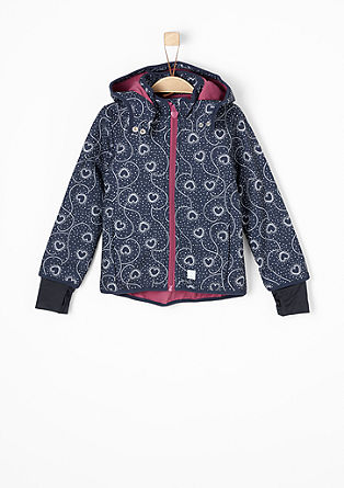 Softshell jacket with a print from s.Oliver