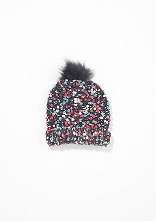Mütze aus Fancy-Garn