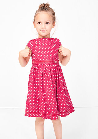 Dress with shiny polka dots from s.Oliver